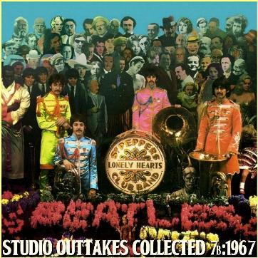 Studio Outtakes Collected 7b 1967 Pepper
