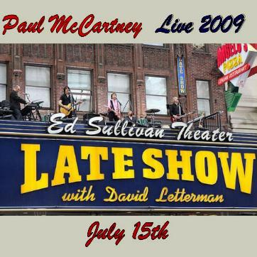nw Live 2009 07 15 Letterman