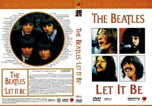 DVD Let It Be m