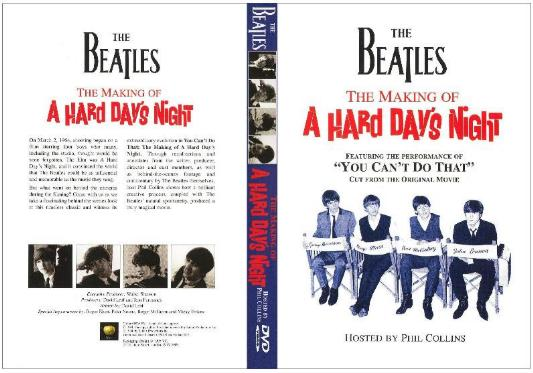 DVD Making of A Hard Days Night